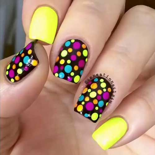 Multi Colored Nail Nail Art Designs 2017