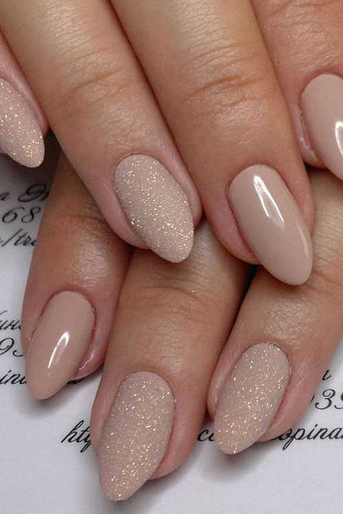 Nude Color Nail Designs