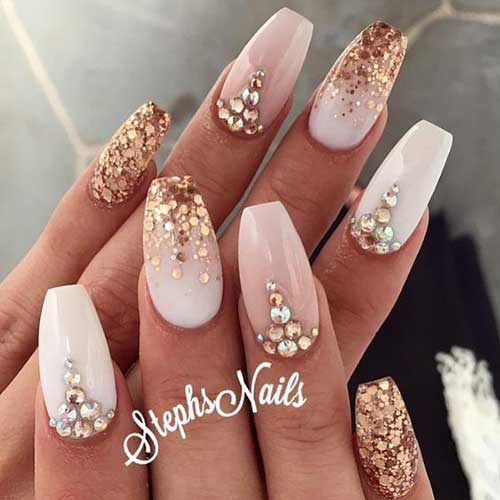 Nude Nail Designs - Nude Colored Amazing Nail Designs