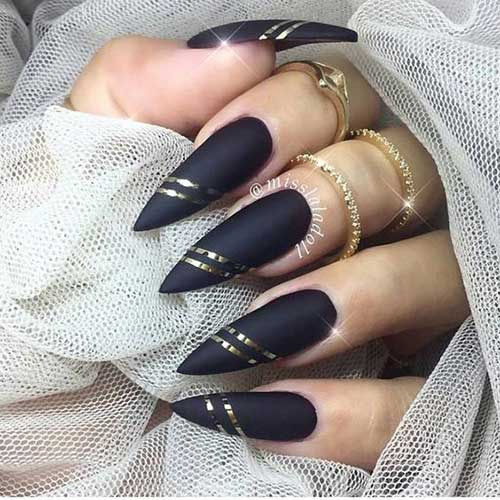 Stiletto Nail Designs