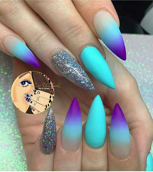 Stiletto Nails Shape