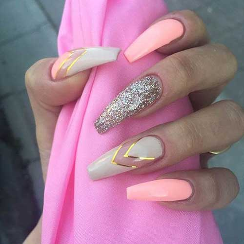 Very Long Nail Styles