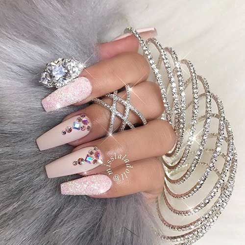 Nail Designs with Rhinestones-10