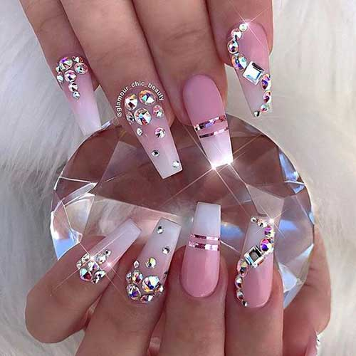 Nail Designs with Rhinestones-15