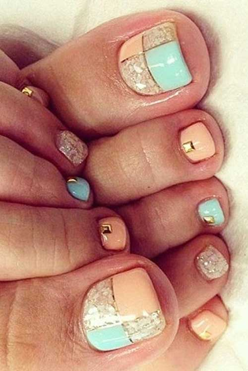 Cute Toe Nail Designs-6