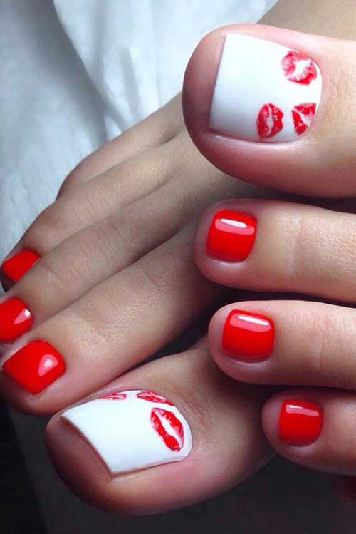 Cute Toe Nail Designs-7