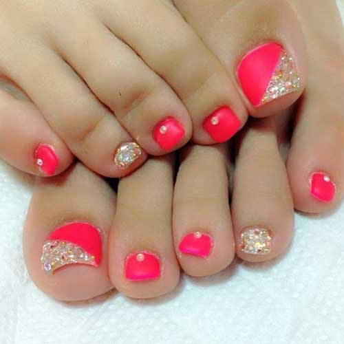 Cute Toe Nail Designs-8