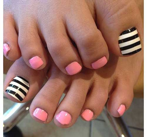 Cute Toe Nail Arts