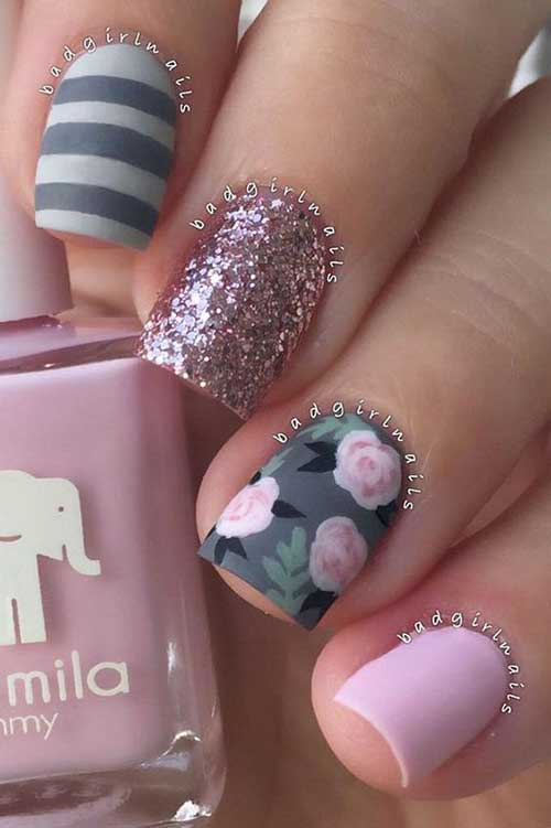 Green Nail Art Designs