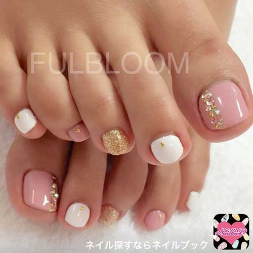 Simple Toe Nail Designs - Cute Toe Nail Designs You Should Try In This Summer
