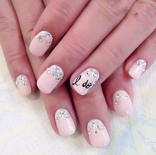 Totally Beautiful Wedding Nail Designs for Ladies