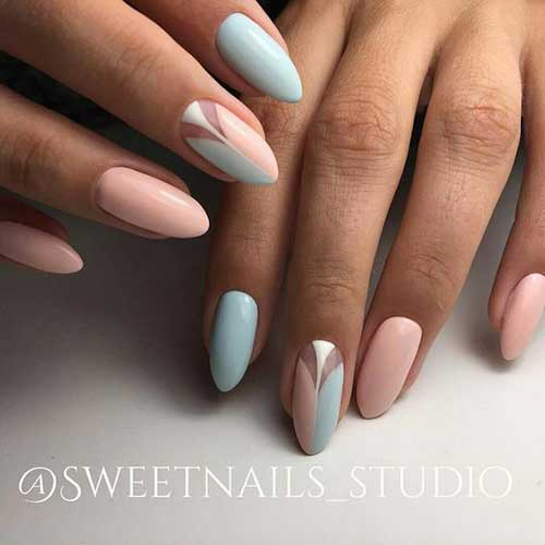 Almond Shape Nail Designs-12