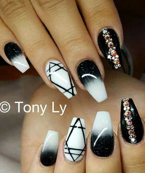 Coffin Nail Designs-12