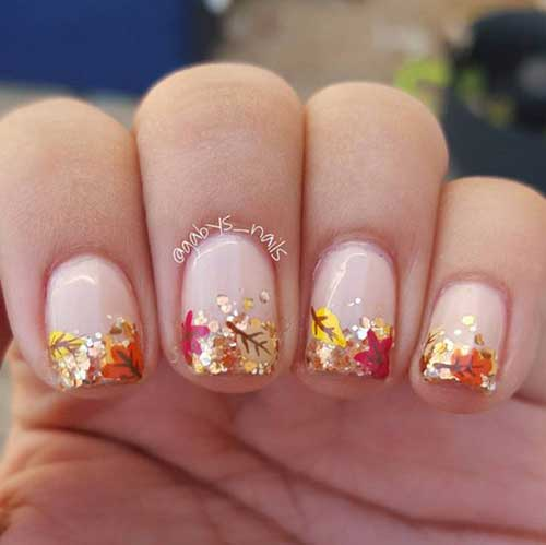 Nail Art For Fall Season