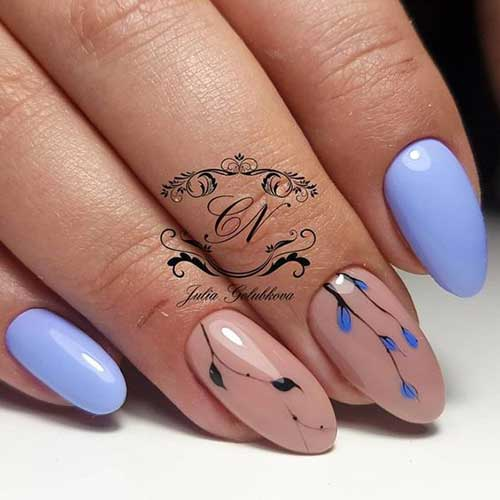 Almond Shape Nail Designs-15