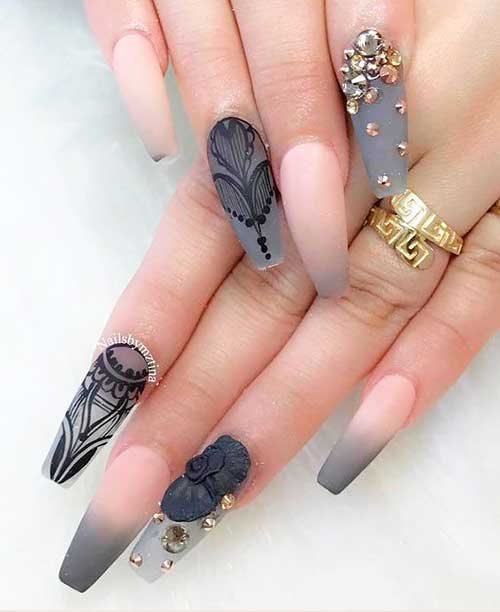 Coffin Nail Designs-15
