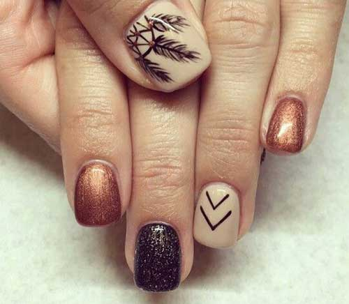 Nail Arts for Fall Season-15