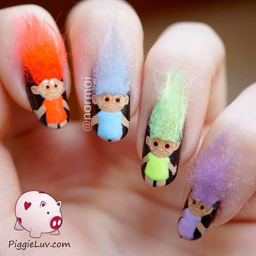6azy Nail Design Nail Art Designs 2017