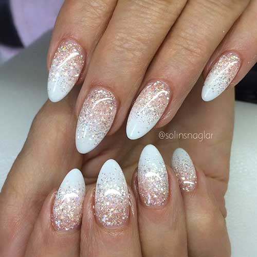 Almond Shape Nail Designs-7 - Fabulous Almond Shape Nail Designs You Should See