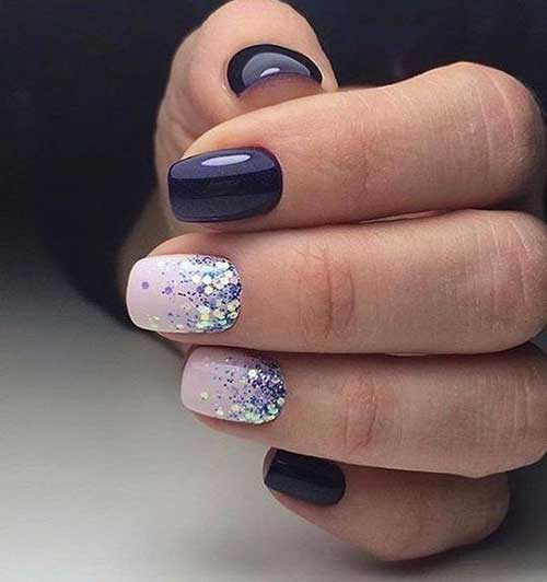Glittered Nail Art Designs-7