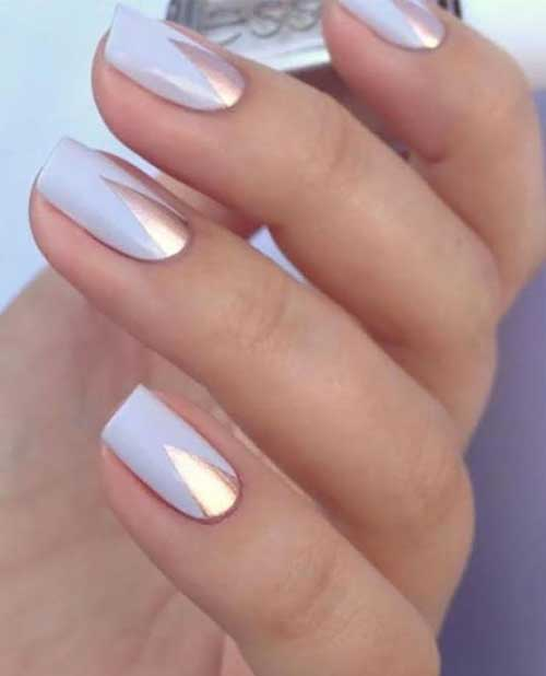 Very Pretty And Simple Nail Designs For A New Style