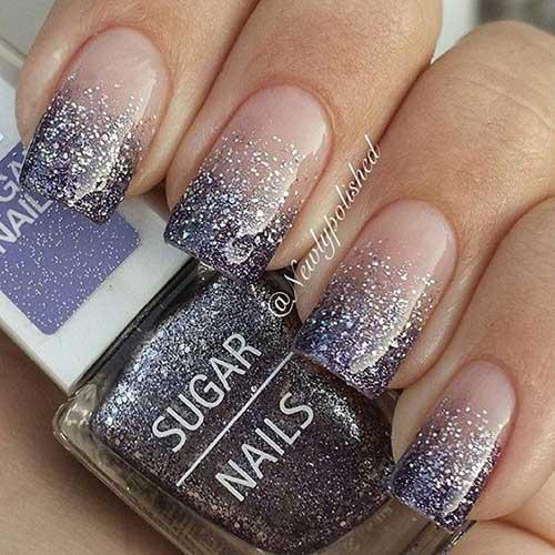 Glittered Nail Art Designs-9