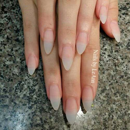 Almond Shape Nail Design - Nail Art Designs 2017