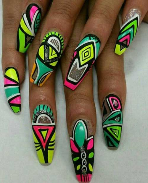 Crazy Nail Designs - Really Unique Crazy Nail Designs