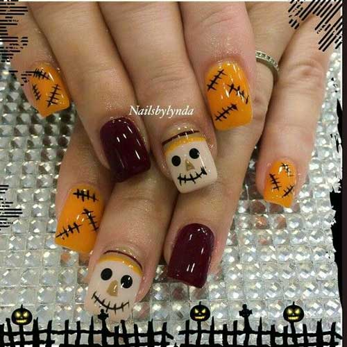 Fall Season Nail Arts