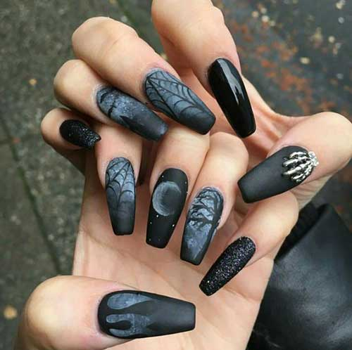 Matte Nail Designs - Great Designs With Matte Nail Polish