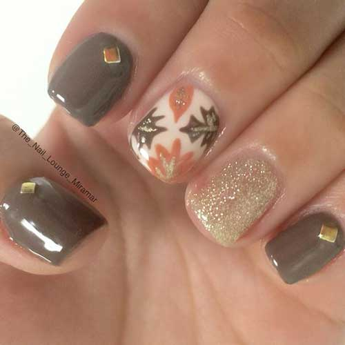 Nail Arts for Fall Season