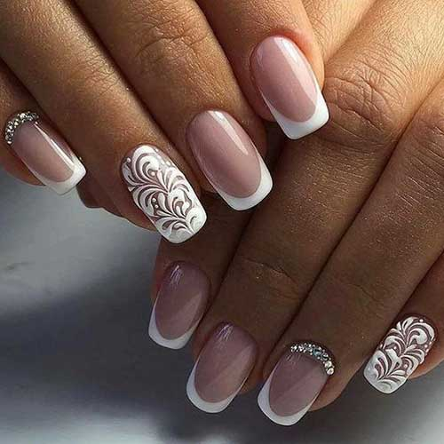 Wedding Nail Designs - Totally Beautiful Wedding Nail Designs For Ladies