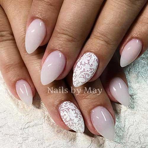 Almond Shape Nail Arts-11