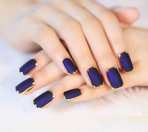 Dark Nail Color Designs-11