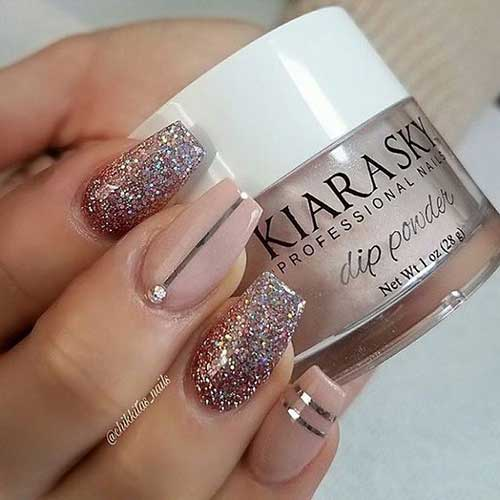 Nude Colored Nail Designs-11