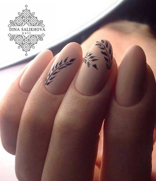 Nude Colored Nail Designs-13
