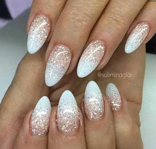Almond Shape Nail Arts-15