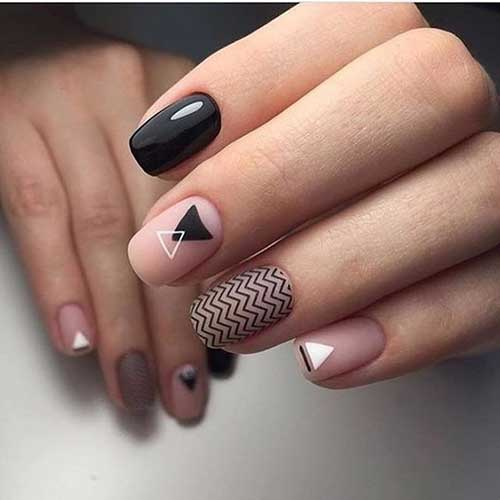 15ometric nail design nail art designs 2017 geometric nail design prinsesfo Images