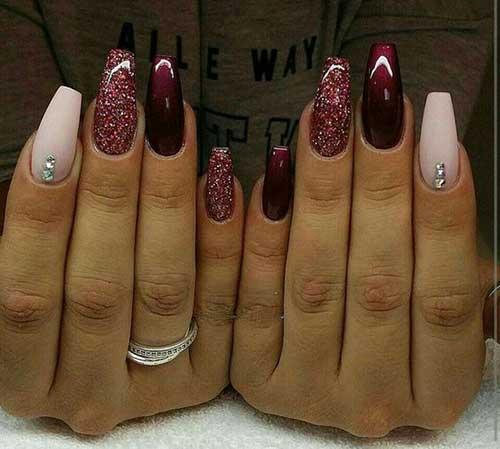 Glittered Nail Designs-15