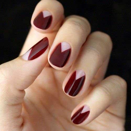 Geometric Nail Designs-19