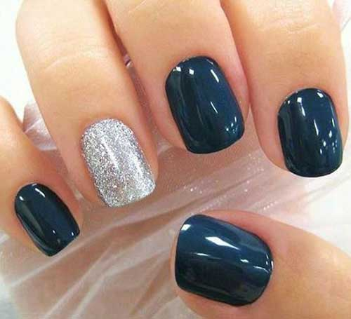 Dark Nail Color Designs-6