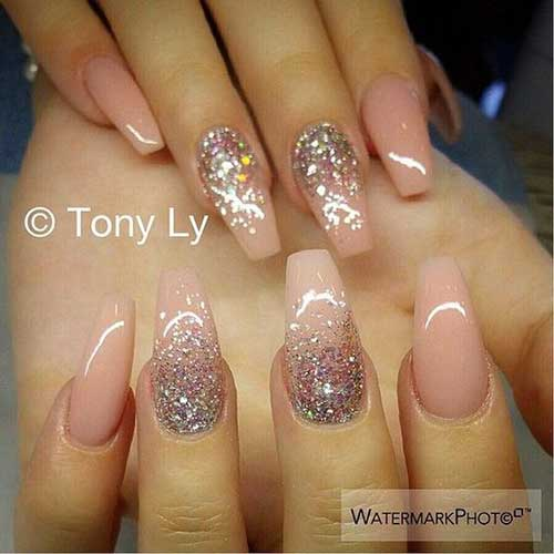 Pretty ideas for nude colored nail designs nude colored nail designs 6 prinsesfo Image collections