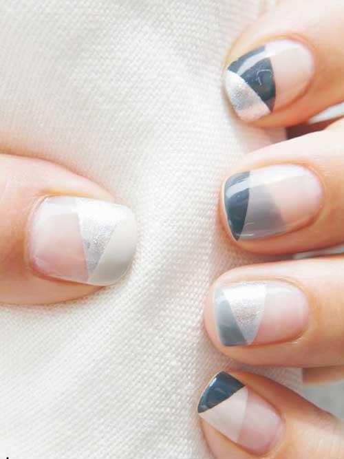 Geometric Nail Designs-7