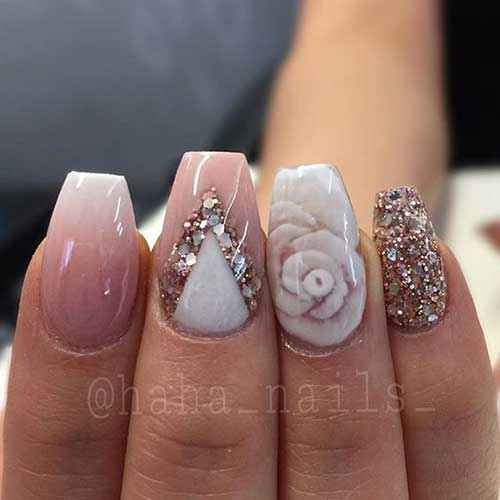 Pretty ideas for nude colored nail designs nude colored nail designs 8 prinsesfo Image collections