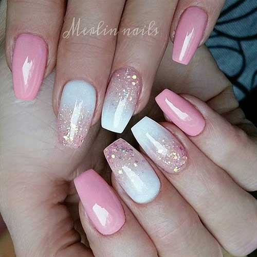 Ombre Colored Nail Designs-8