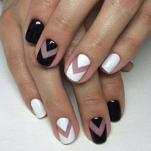 Geometric Nail Designs-9