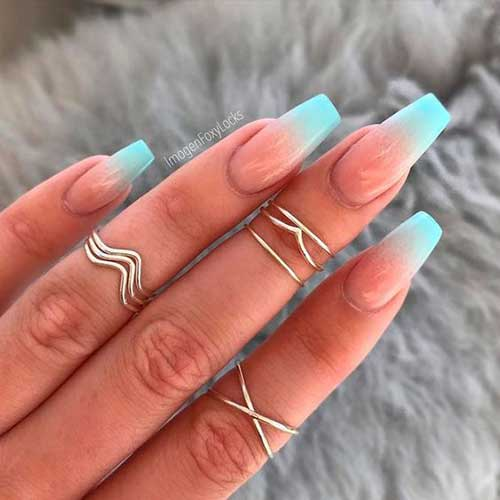 Ombre Colored Nail Designs-9