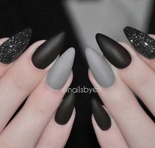Best Dark Color Nail Designs