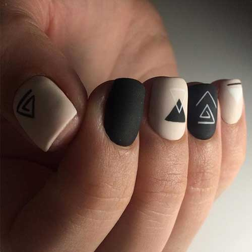 Best geometric nail design nail art designs 2017 best geometric nail design prinsesfo Images