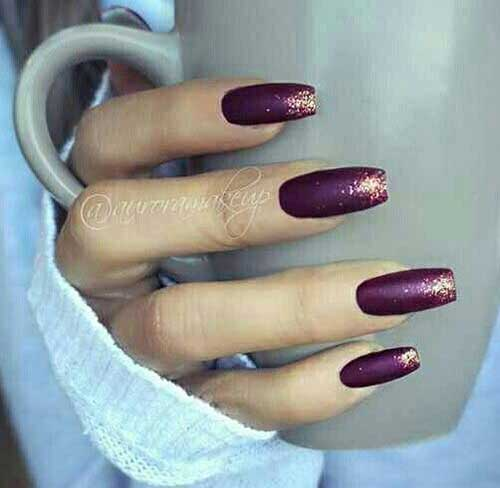 Dark Colored Nail Designs